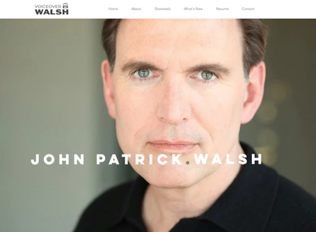 VoiceOverWalsh Gets a New Logo and Website