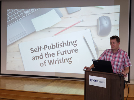 Michael Grumley Takes His Writing Secrets on the Road