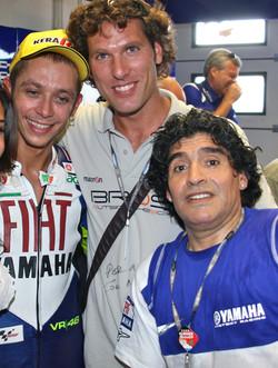 Valentino Rossi & Maradona