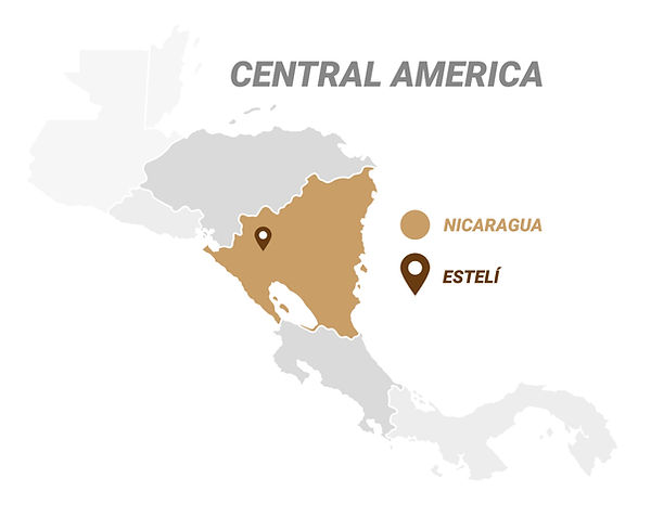 CigarKings Central America Map