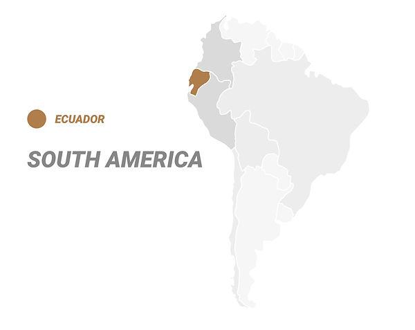 CigarKings South America Map