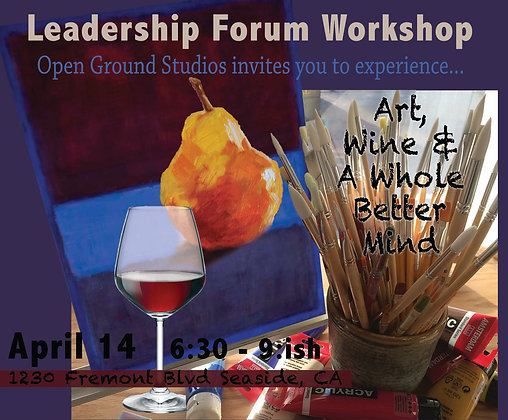 WINE & PAINT: Leadership Forum