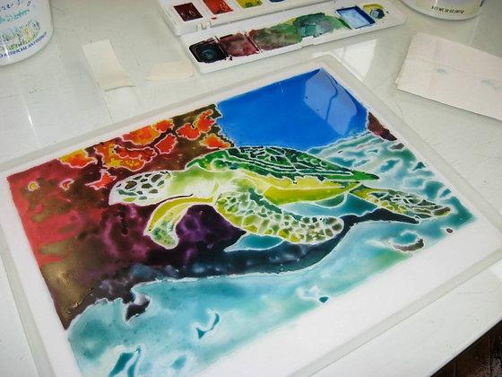 Watercolor Monotype Workshop