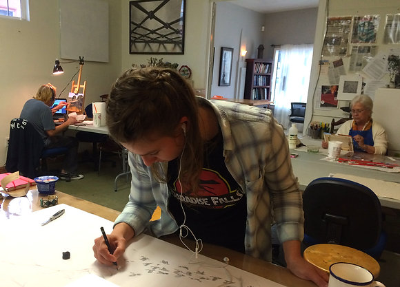 THURSDAYS- Weekly Open Studio Lab