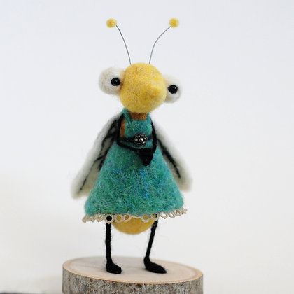 Dressed to the Nines Felting