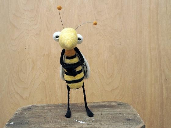 Needle Felted Bee Workshop