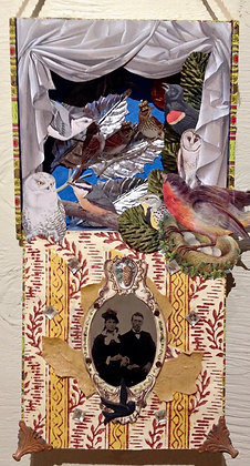 Collaged Treasure Box Workshop