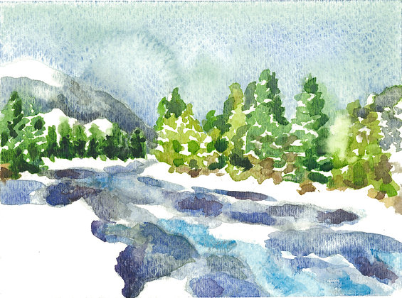 The Ebb & Flow of Watercolor
