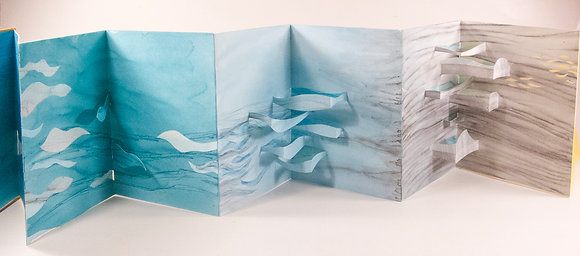 Book Arts: Layered Leporello