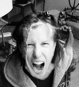 Primal Scream, Black _ White photo, 8 x