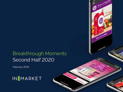 KWG and Ocean Spray Recognized as one of  InMarket's H2 2020 Breakthrough Moments Winners