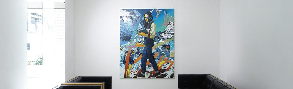 Solo exhibition at Kodama gallery