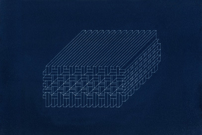 """Structure #9, from the series """"Proposal for Habitat for Humankind"""""""