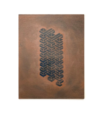 """Structure #25, from the series """"Proposal for Habitat for Humankind"""""""