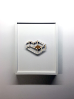 """Maquette #2, From the series """"Proposal for Habitat for Humankind"""""""