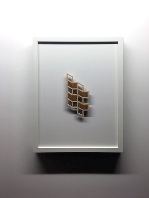 """Maquette #5, From the series """"Proposal for Habitat for Humankind"""""""