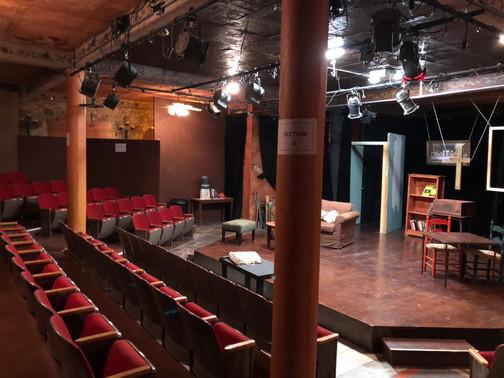 San Miguel Playhouse stage