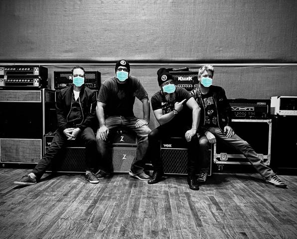 Van Go Go, Band Photo, Pandemic 2020