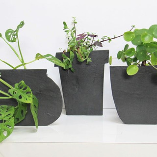 Slate planters__#slate#planter#craft#mod