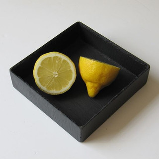 Small dish in slate__dishesinslate#black