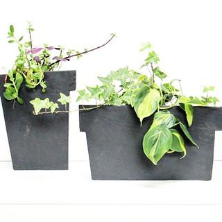 Slate planters__#slate#planters#moderncr