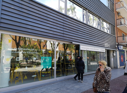 """""""Mares"""" in Madrid – a coworking space from another dimension"""