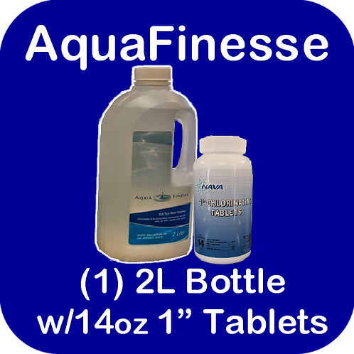 AquaFinesse (1) 2L Bottle plus Tablets