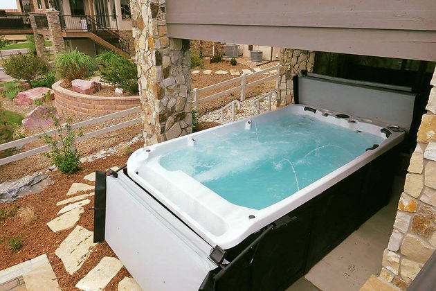 Swim Spa For Sale >> 10 Reasons To Buy A Swim Spa Jumpstart Your Summer Huge Hot Tub