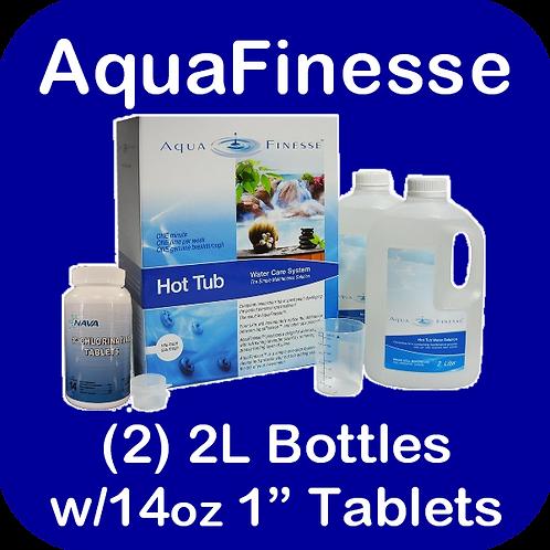 """AquaFinesse Spa Kit (1"""" ChlorineTablets)"""