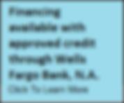 Wellsfrgo Financing, Hot Tub Financing, swim spa financing