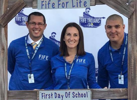 Fife High School welcomes new members to the admin team