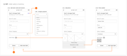 Add to Inventory Wireframes