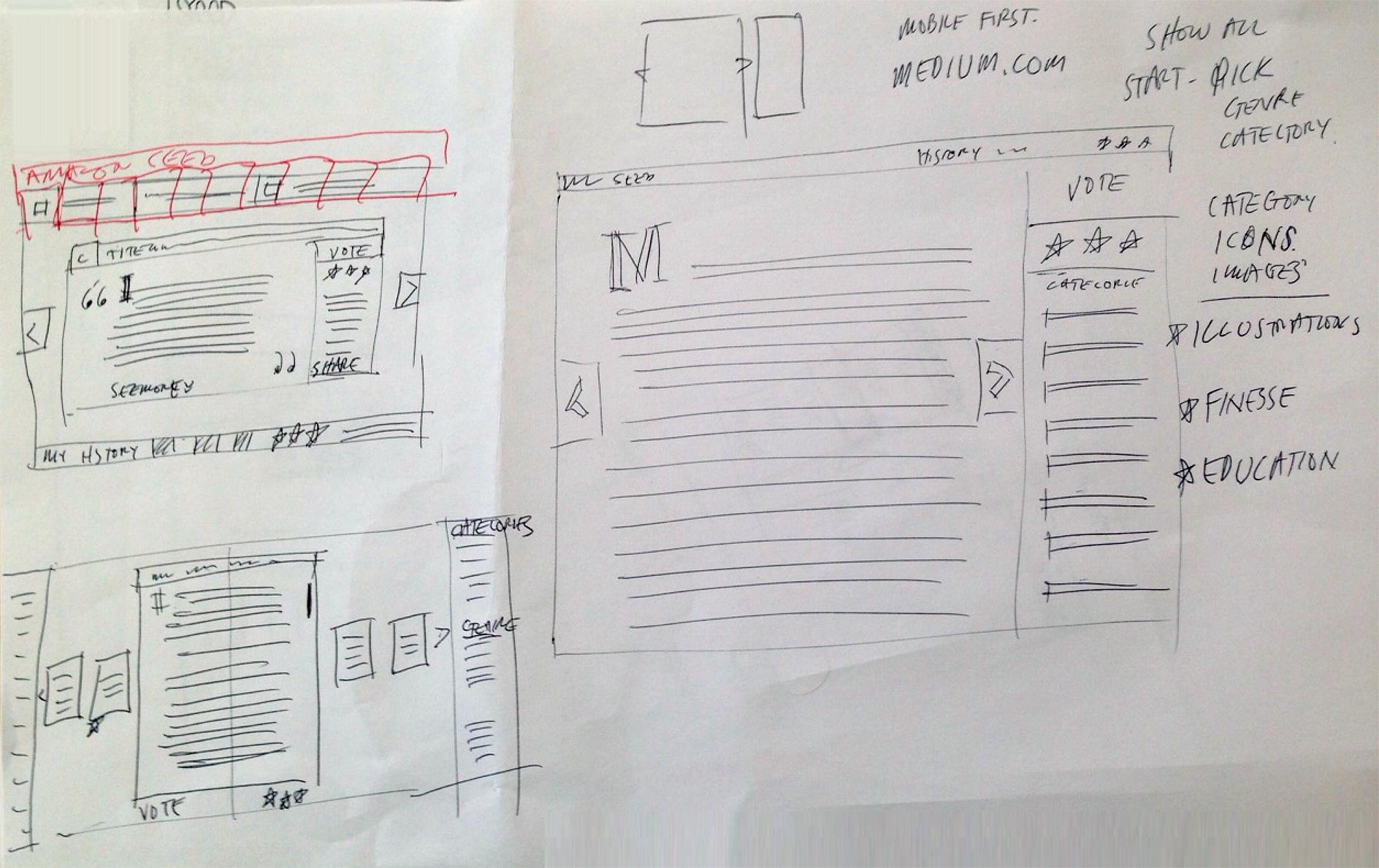 Brainstorm Sketches