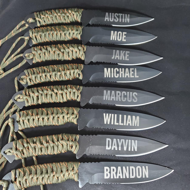 personalized knives