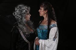 Hathdíray and Queen Leanara