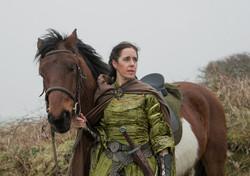 Queen Leanara holding horse web