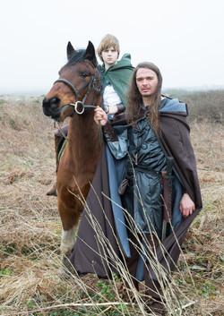 Prince Avlyn and Adhrón
