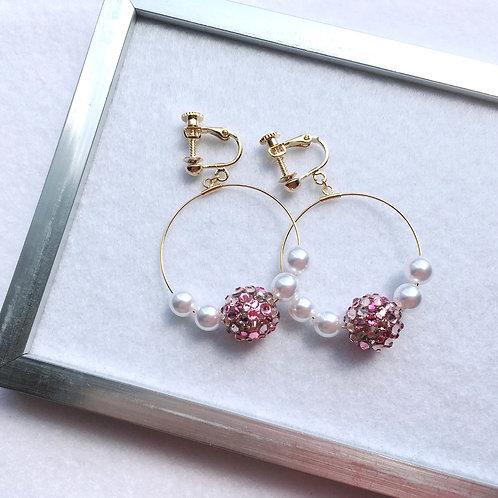 【最終販売】Sakura フープイヤリング