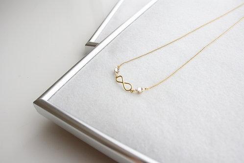 infinity Love ネックレス (Gold)