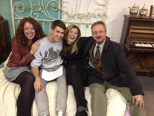 Jemma, Tom, Kelly, David Rees