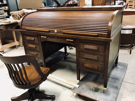 Roll-Top Desk Restoration