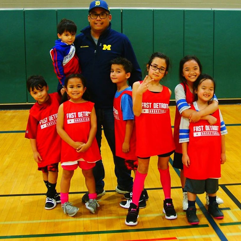 FAST-D Youth Basketball Clinic - Session 1