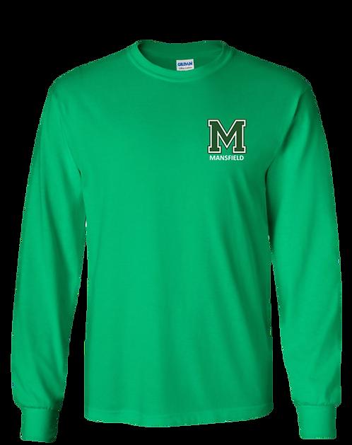 Youth & Adult - Irish Green - Long Sleeve T-Shirt - Ultra Cotton