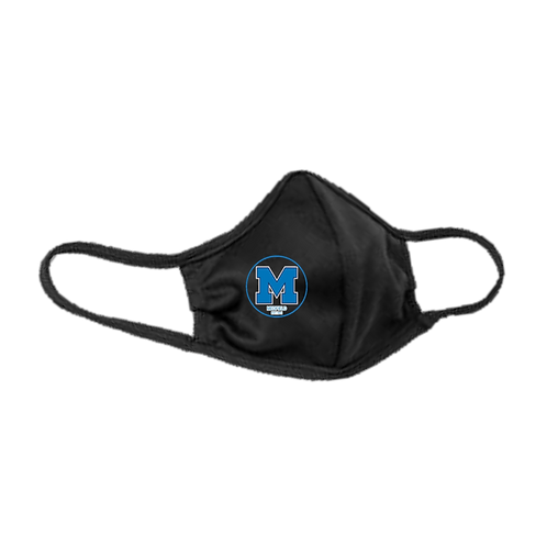 Youth & Adult Black Masks - 3-ply with Ear Adjusters