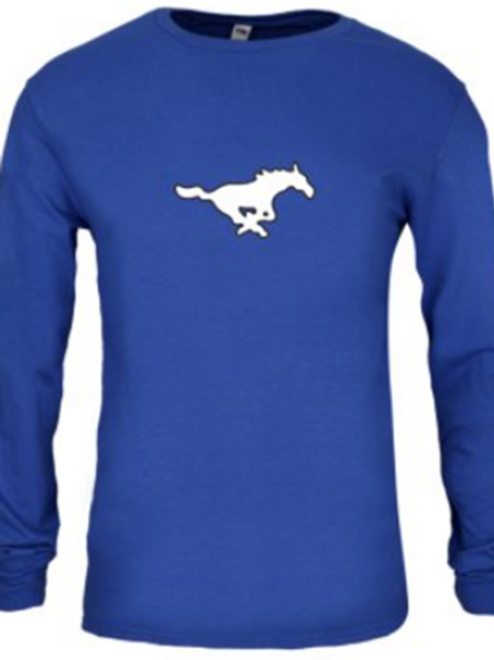 Long Sleeve T - Blue
