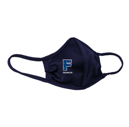 Youth & Adult Navy Masks - 3-ply with Ear Adjusters