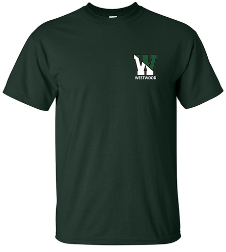 Youth & Adult - Forest Green - Short Sleeve T-Shirt - Ultra Cotton