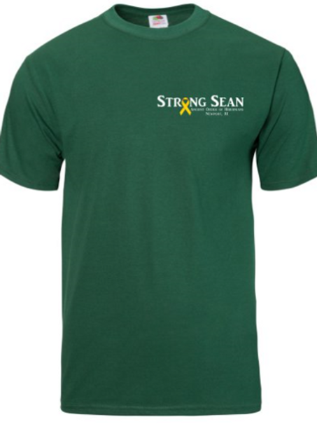 Youth - Strong Sean T-Shirt -Forest Green