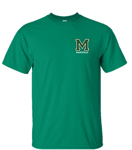 Youth & Adult - Kelly Green - Short Sleeve T-Shirt - Ultra Cotton