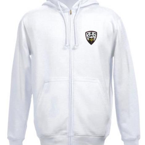 Embrodiered RHS Logo Zipper Hoodie